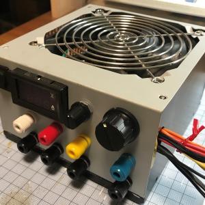 ATX電源の活用方法#4-パネル加工〜仮組み付け