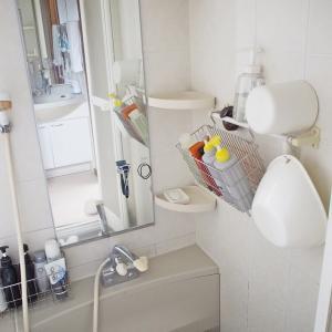 お風呂の吊るす収納術。嫌いな家事ナンバーワンのお風呂掃除を劇的ラクに