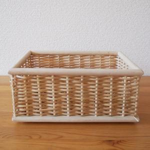 【無印良品】おすすめ収納グッズ!重なるブリ材長方形ボックスでキッチンやリビングなどの小物収納