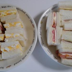 #301 不器用すぎるサンドイッチと味だけはいける食パンラスク【日記】