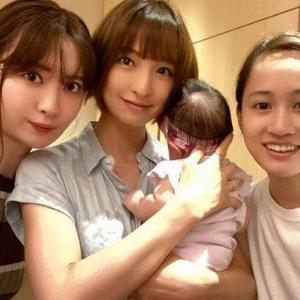 篠田麻里子(タレント)旦那ドッグフード店前田敦子の一言初の出産で救われた!?