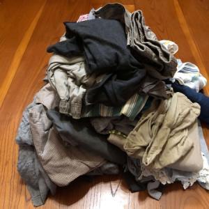 旦那のスペースなのに私の服の方が多い