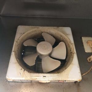 【汚画像注意】キッチン換気扇。「茂木和哉」掃除法でらくらく! 新品みたい♪