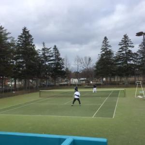 日曜テニス