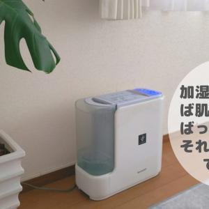 乾燥肌には加湿器が効果的。でも「保湿」はできません!