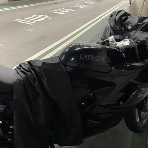 雨 バイク通勤!