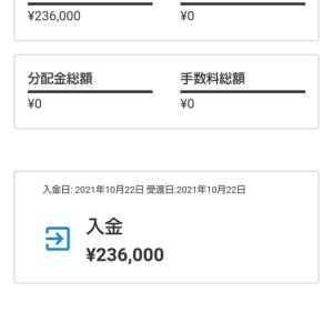 ロボ投資を始めてみました 入金236000円(ウェルスナビ)