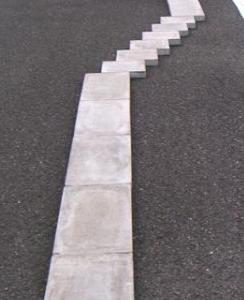 二輪車安全運転大会攻略・ブロックスネーク簡単通過方法