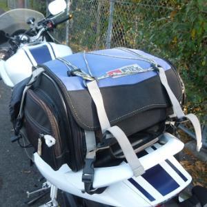シートバッグでツーリングを幅広く楽しもう!