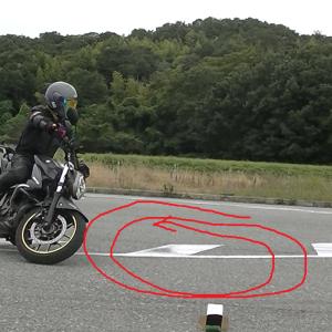 【回転】バンク進入からのフルロック→回転のリズムを覚えよう(中級回転練習法)