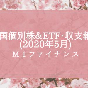 米国個別株&ETF・運用実績+ポートフォリオ公開【保有株23・M1ファイナンス】