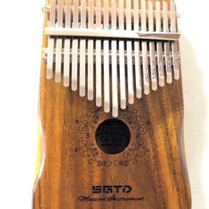 最近話題の楽器 「カリンバ」を買いました。