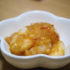 ダイアン津田さんのエビチリレシピを試してみました!調理中の写真も!