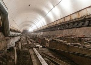 スモレンスカヤ駅改修
