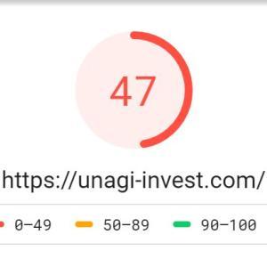 雑談_ブログページの速度改善してみます