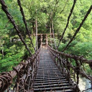 渓谷を見に行って、ラーメン構造に見惚れる