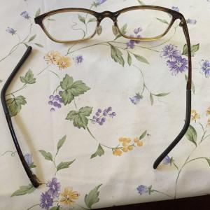 メガネを拭いていたら壊れちゃった!!!