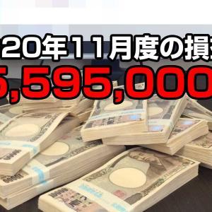 +559万5千円:11月のトレードまとめ