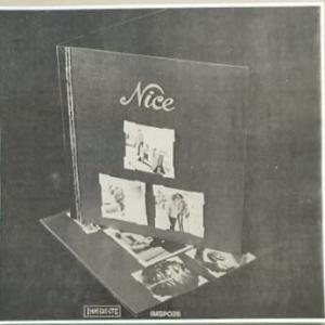 Niceの英国のアルバム宣伝の切り抜き