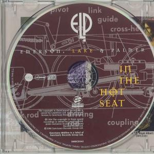 IN THE HOT SEAT 2006年 英盤 盤面
