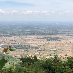 ボーコー国立公園よりも高い山「Phnom Srang」