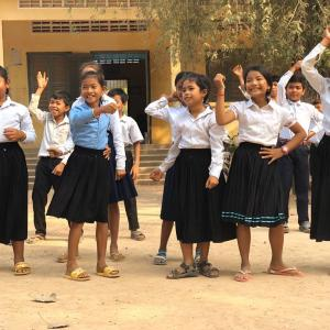 学校支援訪問における印象的な交流活動シーン