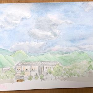 空の絵を描く練習【水彩スケッチ】雲の描き方のコツとポイント