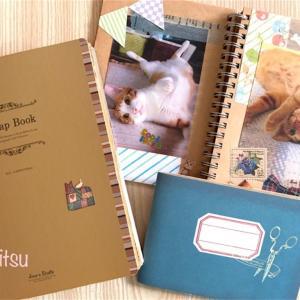 ペットの写真で手作りのアルバム【スクラップブック】簡単に作る方法