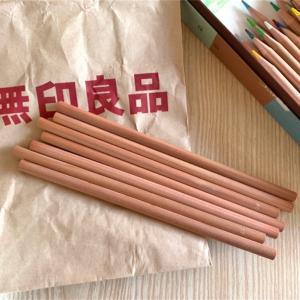 無印良品の店舗で色鉛筆を単品で買ってみた!色見本も作ってみた!