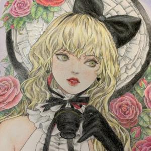 『ミスティカ』より「ブラック・ティー」原画を参考に塗ってよかった!