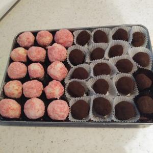 バレンタインチョコを作りました
