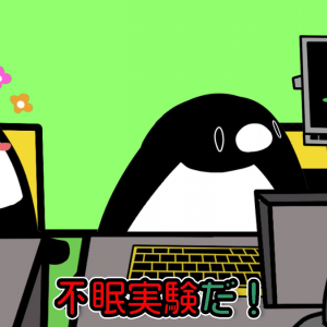 【テイコウペンギン】ずっと寝なかったら身体にどんな悪影響を及ぼすか(YouTube)