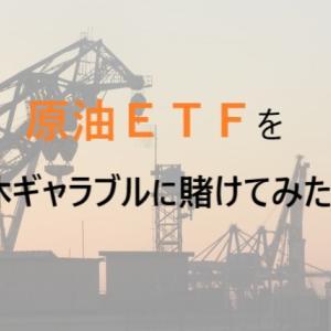 【株式投資】原油ETF連休ギャンブルにかけた結果・・!?~株って難しい・・~