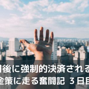 7日後に強制決済される男・・3~6日目~結局30万円の損切!~