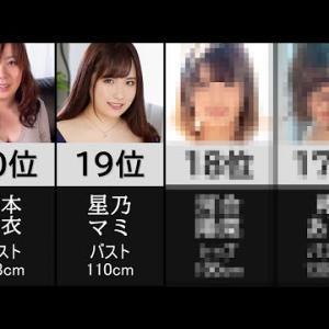 【むっちり系】AV女優人気ランキング