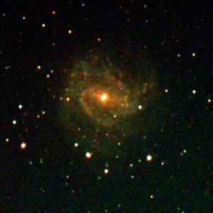 QHY5III485CとSVBONY CLSフィルターによる電視観望で小宇宙(銀河)の彩度を上げられるか?