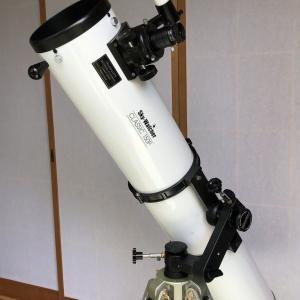 非推奨! ZERO経緯台に15cmF8鏡筒(6.8kg)を過積載する
