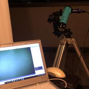 NEWTONY F3.2(fl=160mm)で追尾なし電視観望は可能か?