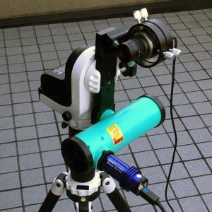 NEWTONY F3.0仕様fl=150mm(0.75×レデューサー使用)にて電視観望