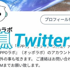 【お知らせ】Twitterアカウントを開設しています