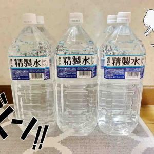 精製水とGikkuri Day 5.