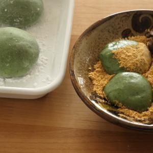 よもぎ餅・草餅の簡単レシピ!もち米とホームベーカリーでよもぎ餅の作り方