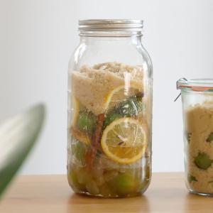 【梅シロップアレンジ】スパイスレモンの梅シロップの作り方