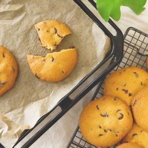 混ぜるだけ!簡単さくさくチョコチップクッキーのつくり方・レシピ