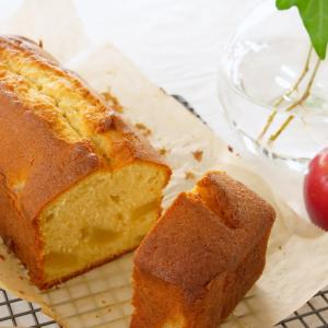 【りんご1個で】簡単アップルパウンドケーキの作り方・レシピ