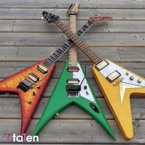 【独特】フライングVおすすめ8選!種類・特徴やVシェイプのギターもあわせて紹介