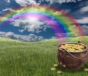 虹の端にある黄金の壷〜The Pot Of Gold At The End Of The Rainbow