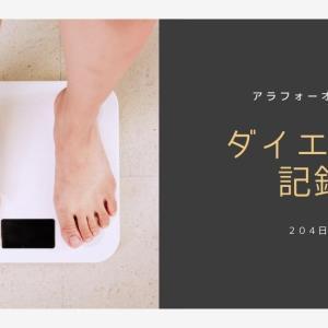 アラフォー男のダイエットブログ204日目【ラクビを飲んで】