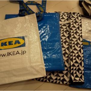 IKEAの袋を買いまくる