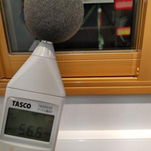 2020年2月9日 窓サッシの防音性調査